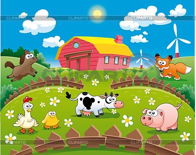 Barn clipart scene. Farm clip art guru
