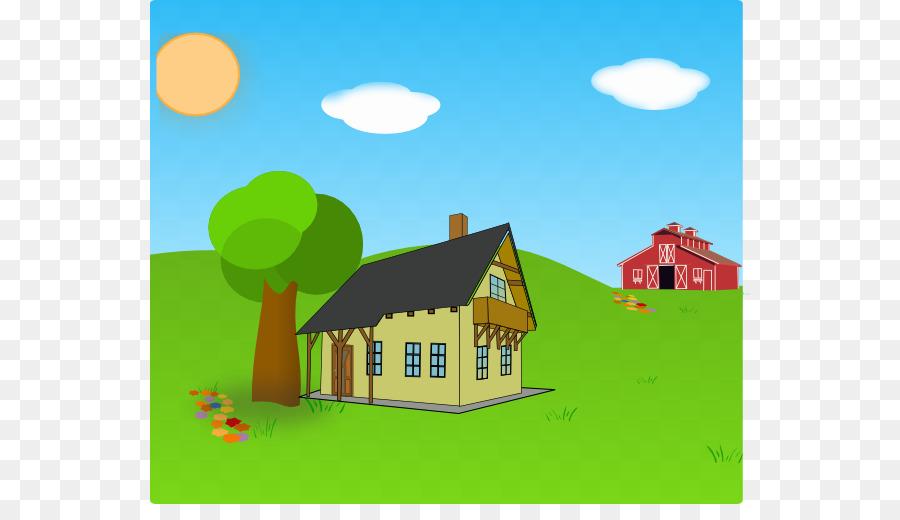 Farm desktop wallpaper clip. Barn clipart scene