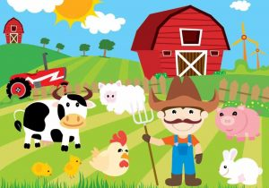 Barn clipart scene. The images collection of