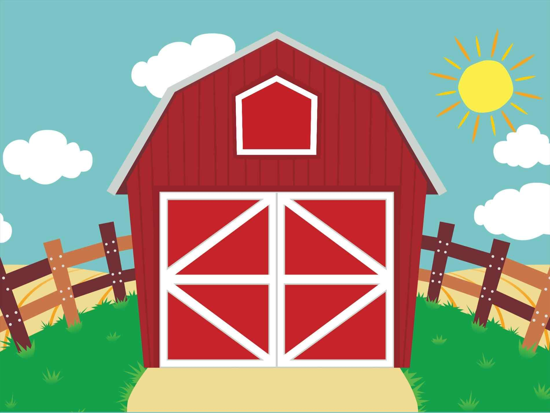 Barn clipart scene. Ipmserie background farm pencil