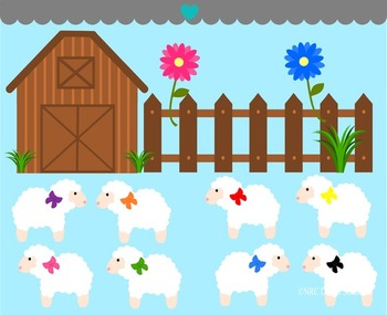 Commercial use . Barn clipart sheep