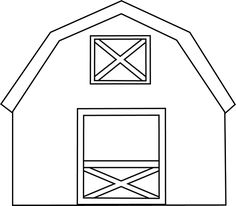 Drawing at getdrawings com. Barn clipart simple