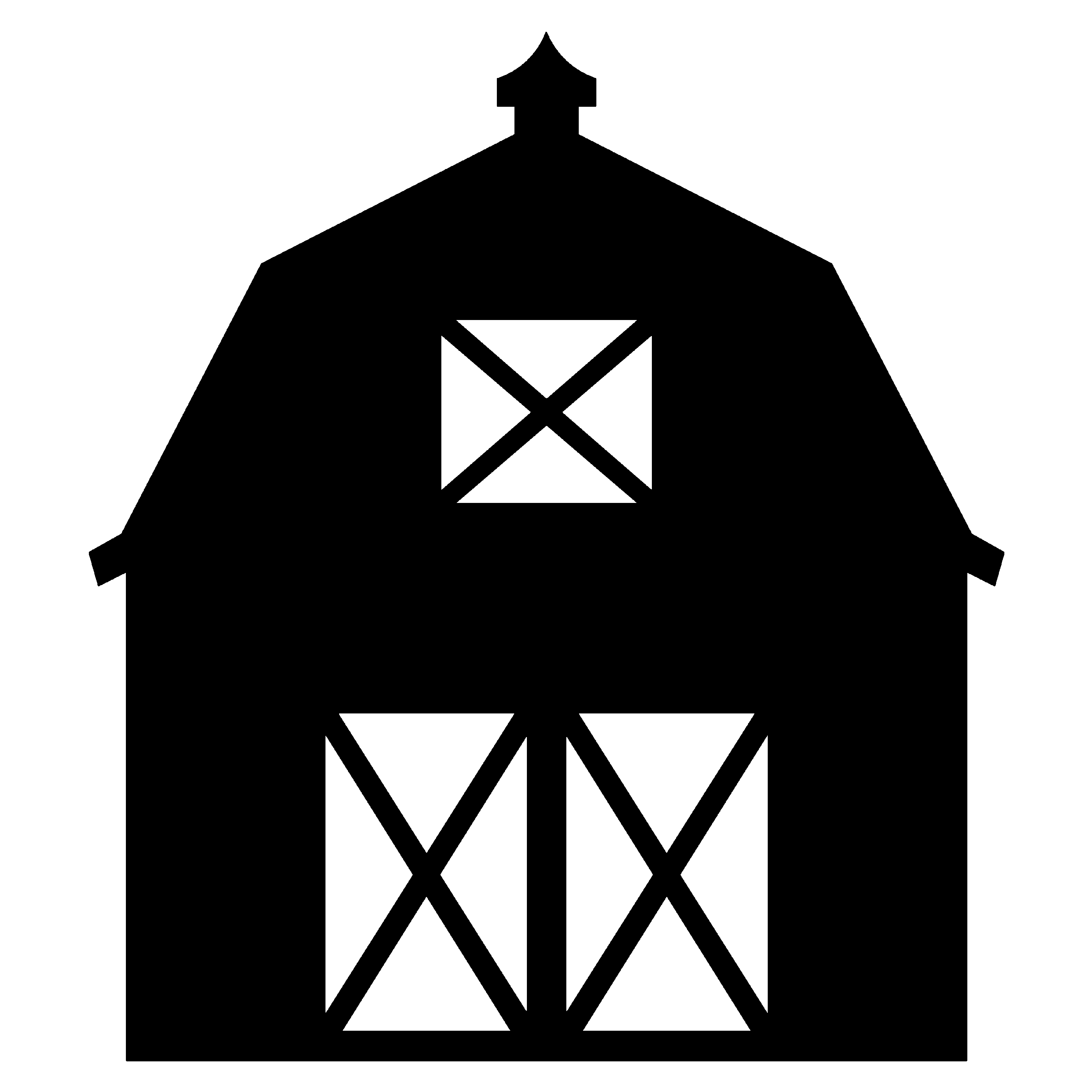 Barn clipart simple. Barns free download best