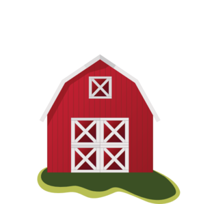 Barn clipart simple. Red clip art at