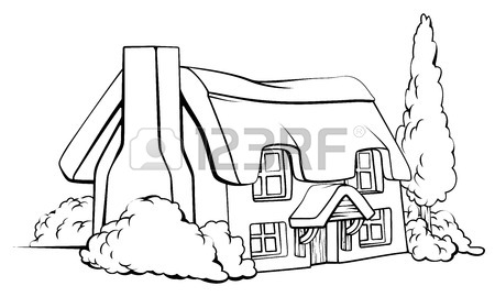 Old drawing at getdrawings. Barn clipart traditional