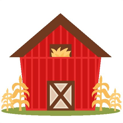 Barn clipart transparent background. Old door openas org