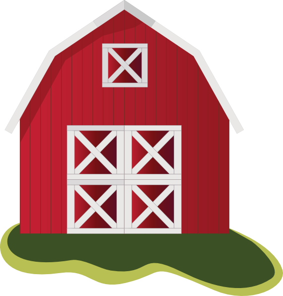 Clipart barn.  collection of transparent