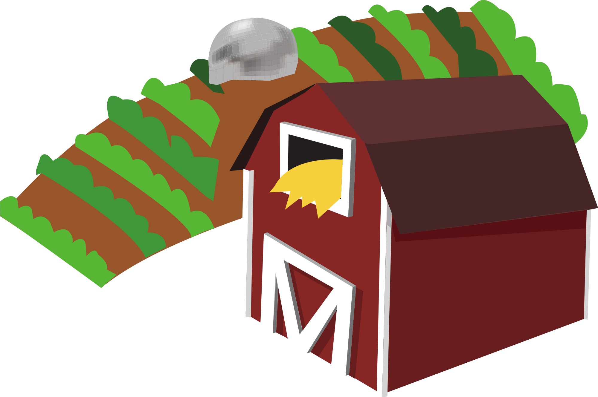 Red barn clip art. Clipart food agriculture