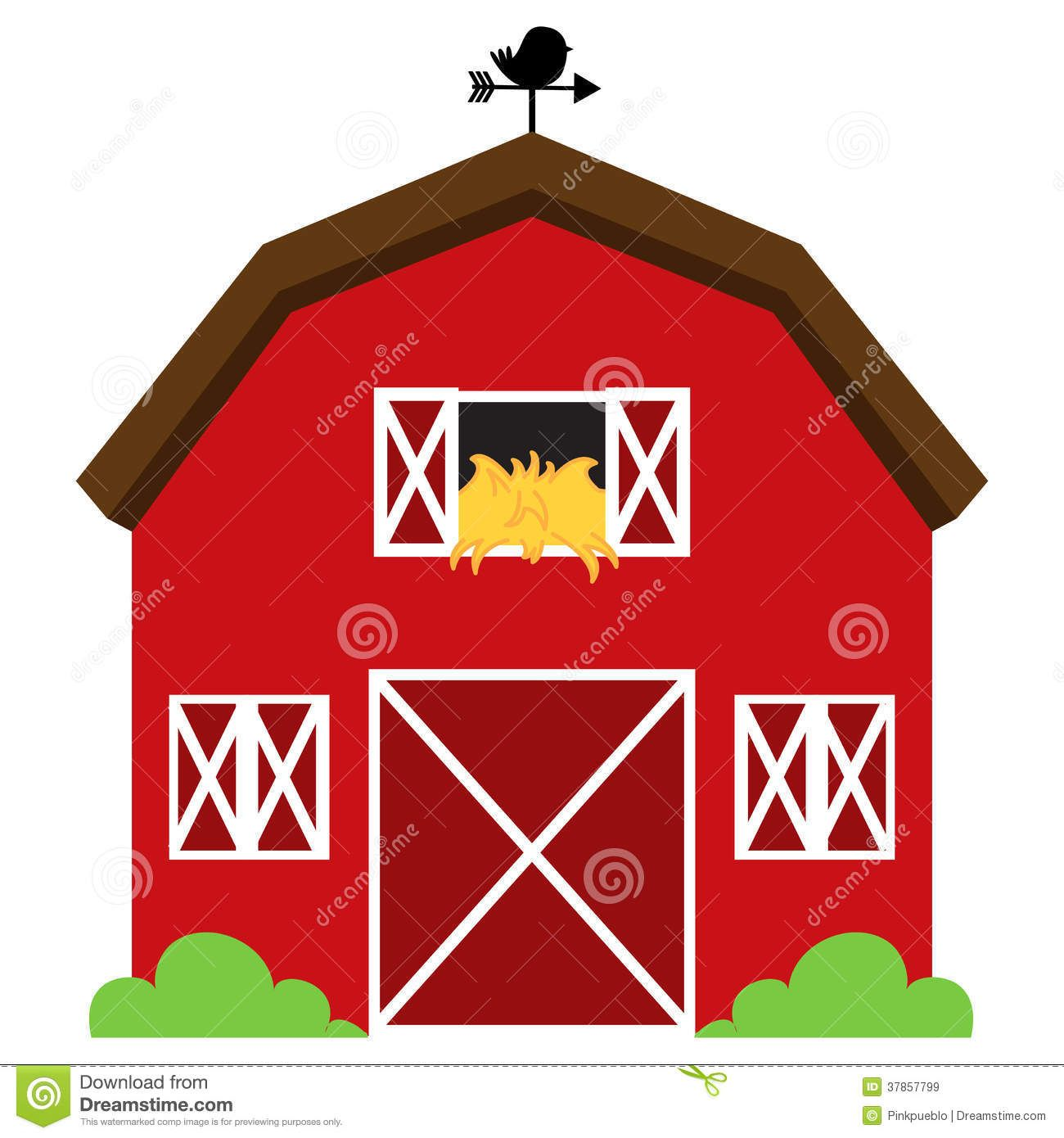 Barn clipart vector. Free clip art images