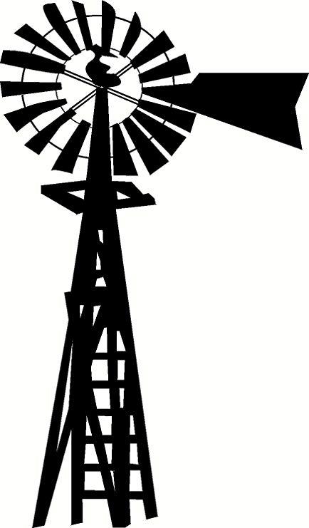 Barn clipart windmill. Amazon com silhouette vinyl