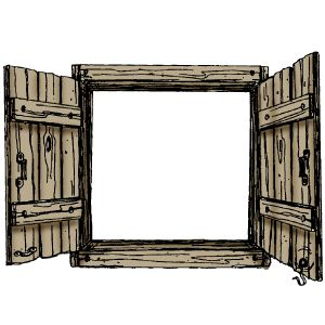 best colored printables. Barn clipart window