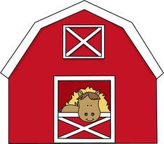 Clipart barn. Farmer clip art free