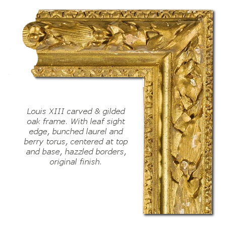 Brief history of louis. Baroque frame png