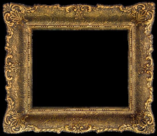 Free premium stock photos. Baroque frame png