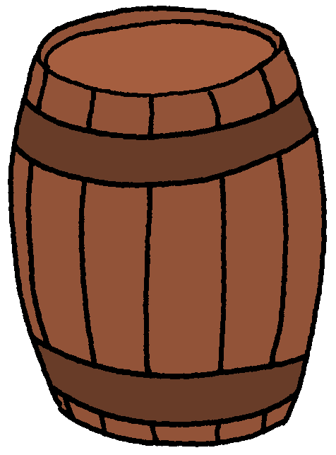 . Barrel clipart