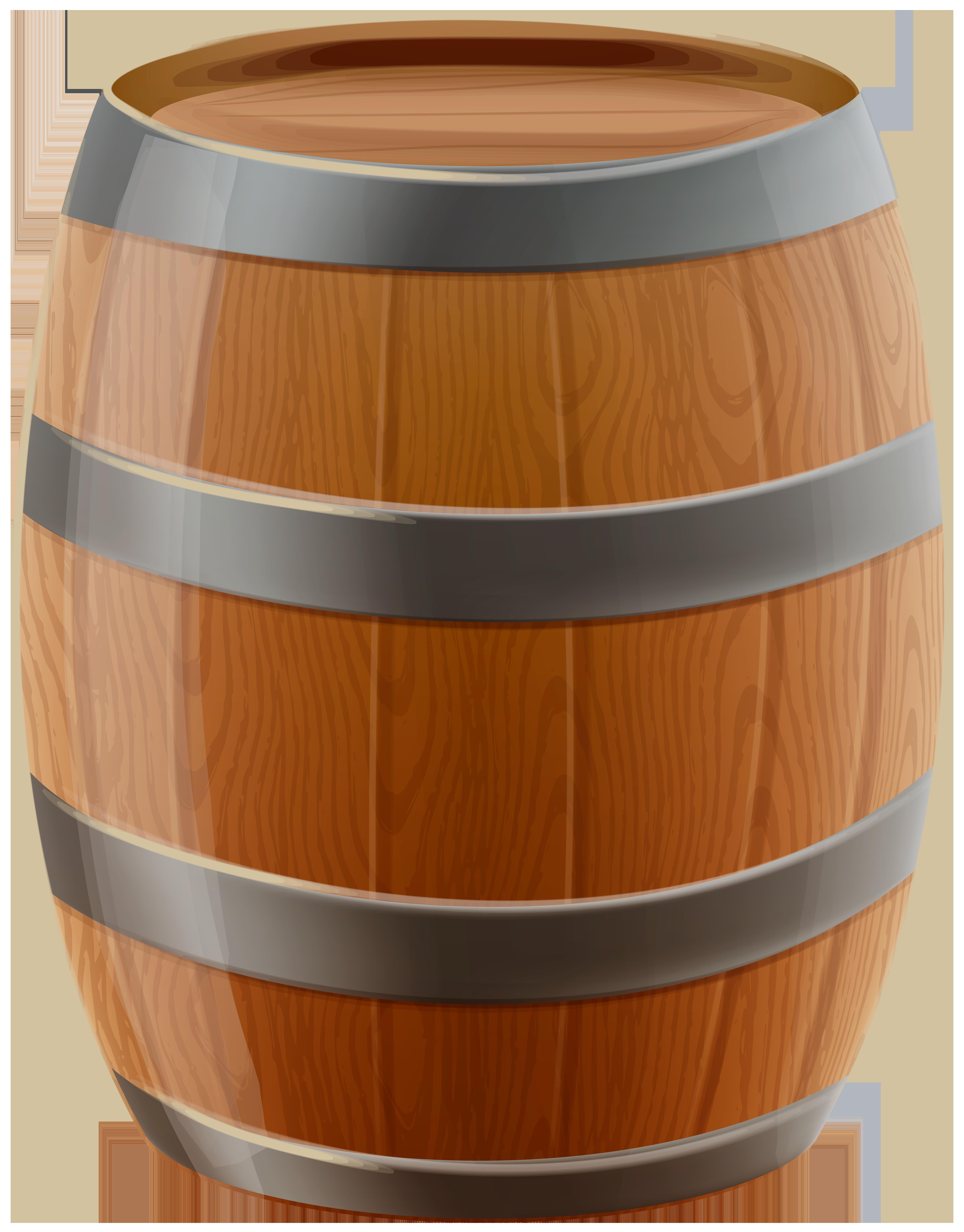 Wooden png clip art. Barrel clipart