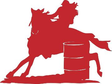 Barrel clipart barrel racing. Clinc