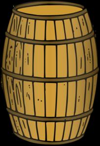 Wooden at clker com. Barrel clipart clip art