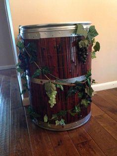Blue plastic barrels and. Barrel clipart drum container