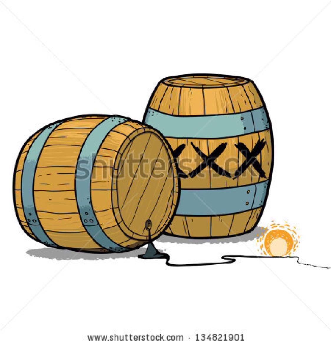 The th of nobember. Barrel clipart gunpowder