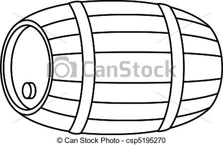 Barrel hard object