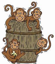 Barrel clipart monkeys. Best ideas about of