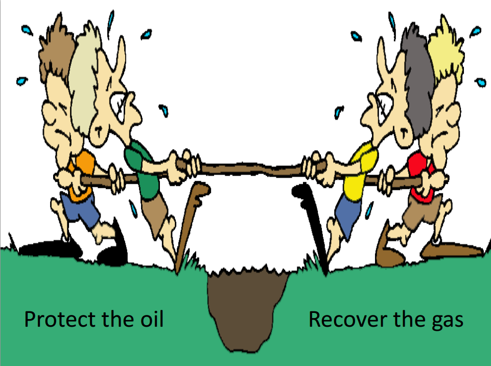 The north slope puzzle. Barrel clipart natural gas