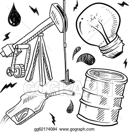 Barrel clipart natural gas. Eps vector fossil fuels