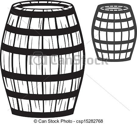 Barrel clipart oak barrel.