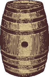Wooden clip art at. Barrel clipart oak barrel