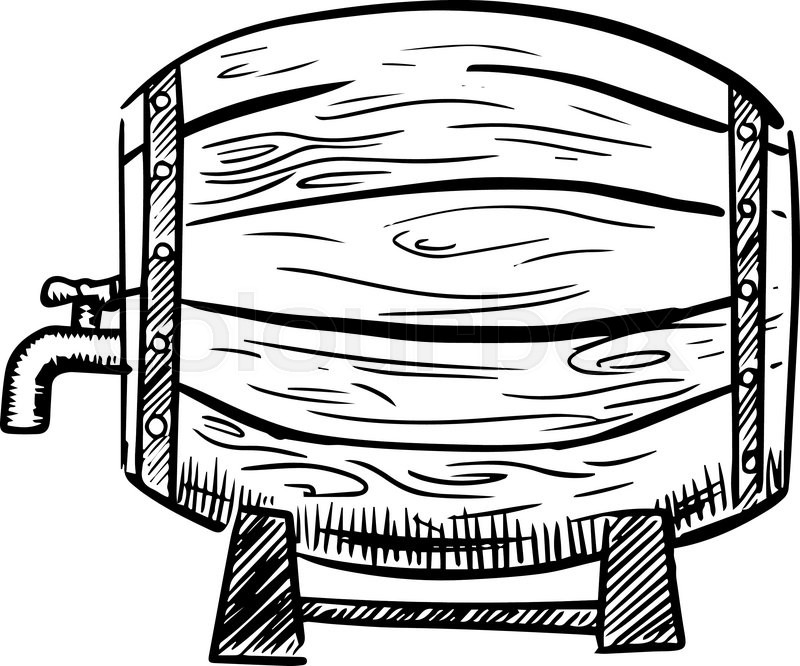 School microphone drawing at. Barrel clipart old fashioned