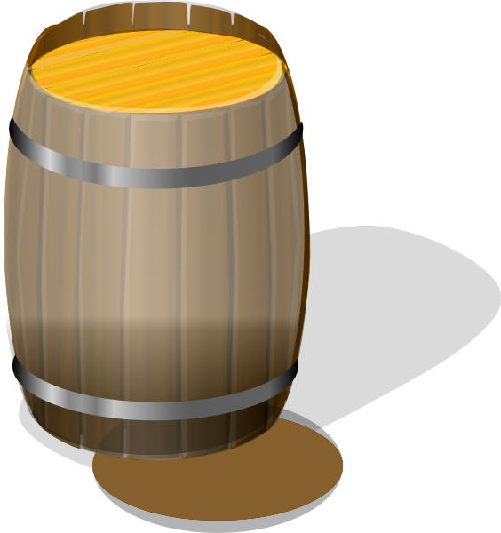 Wood barrel cliparts free. Drums clipart water