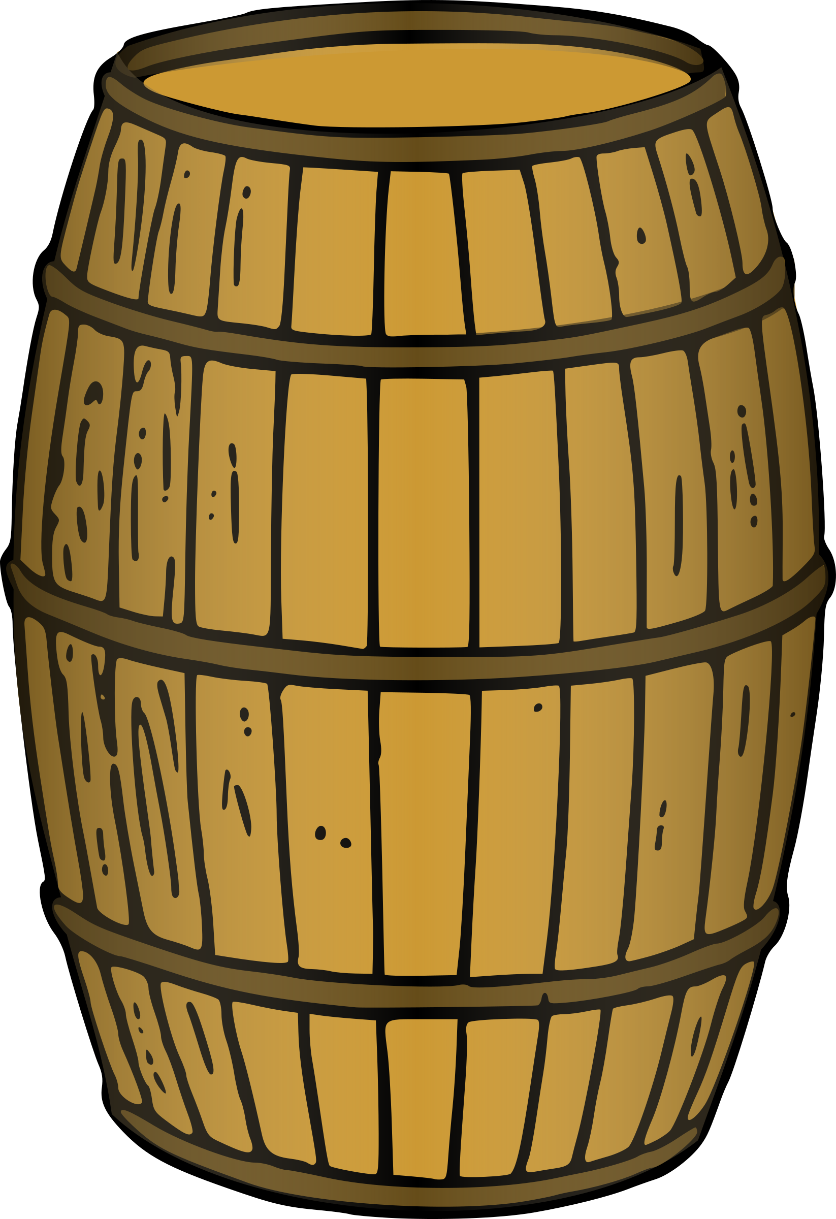 Housekeeping clipart practice. Barrel rendered by kevie