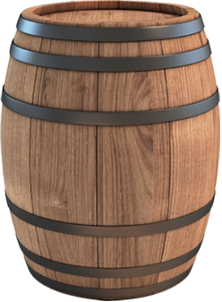 Png free icons and. Barrel clipart transparent background