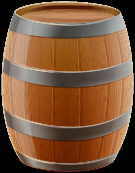 Barrel clipart transparent background. Wooden png clip art