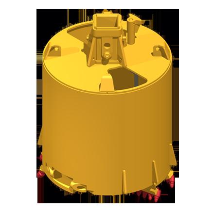 Barrel clipart vat. Drilling tools soilmec s