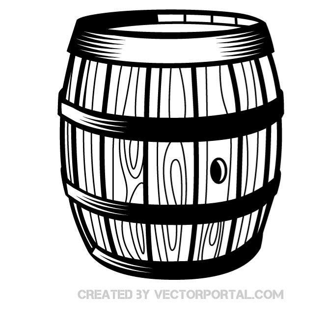 Graphics various vectors pinterest. Barrel clipart vector