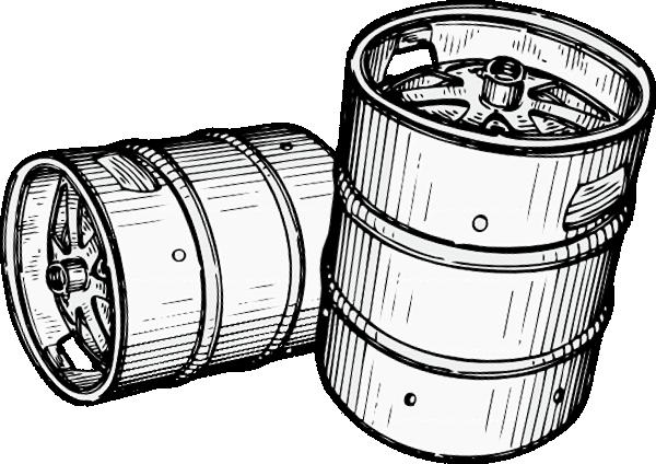 Barrel clipart vector. Free keg cliparts download