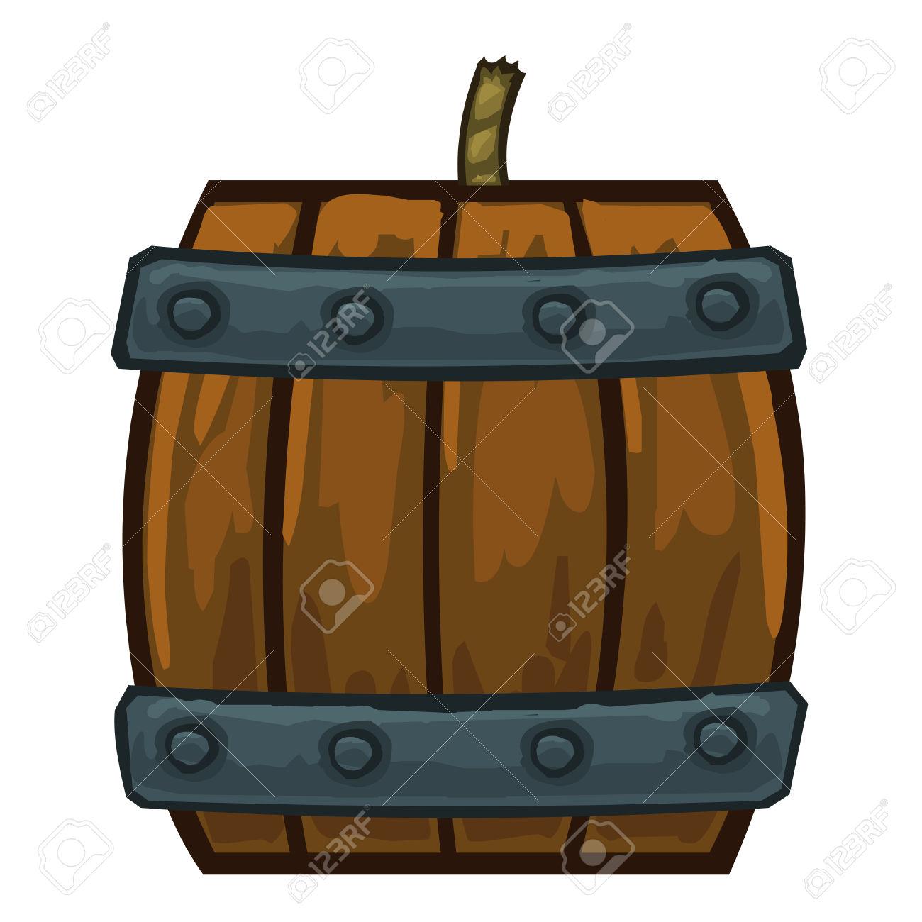 Barrel clipart vector. Gunpowder pencil and in