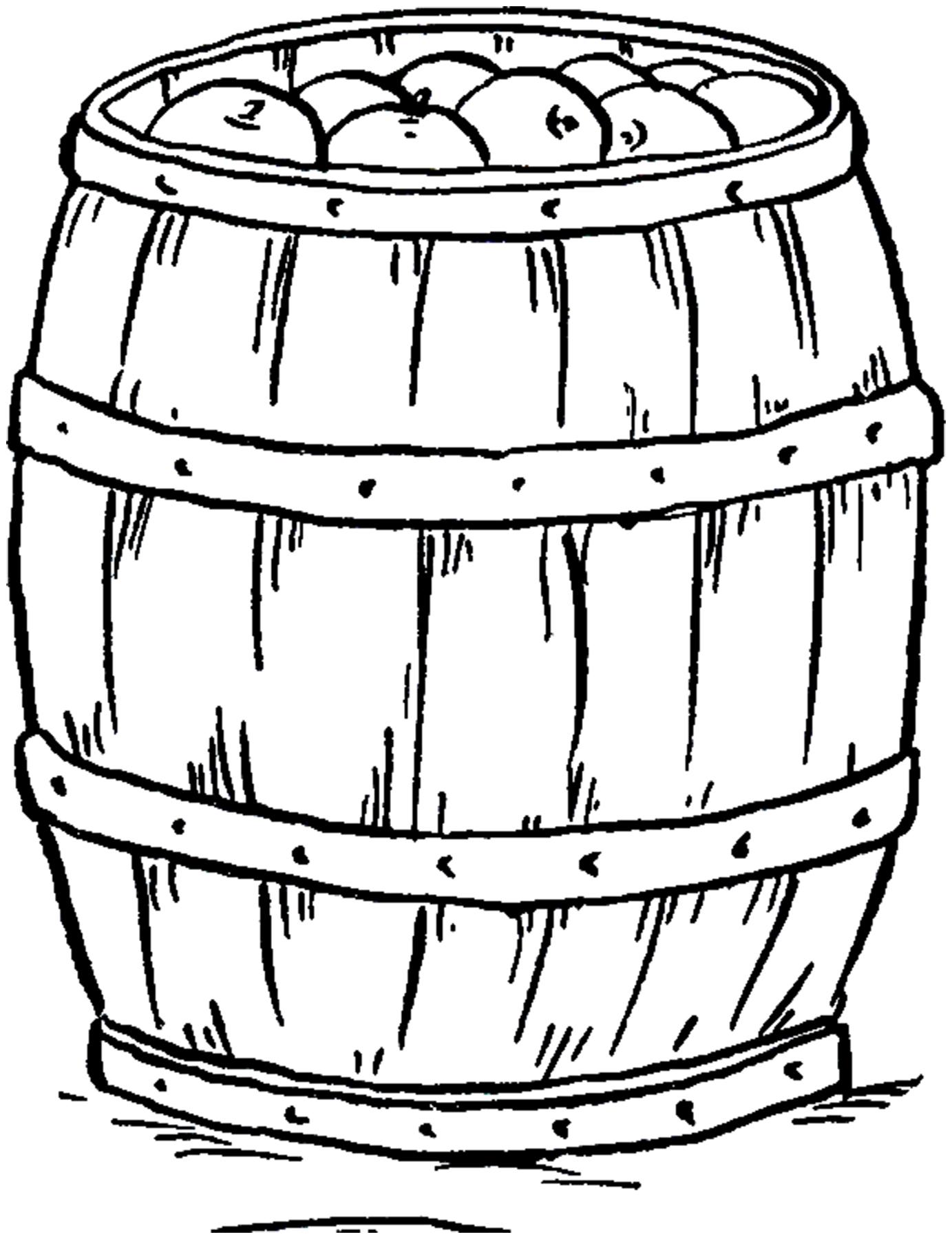 Apple barrel image the. Apples clipart vintage