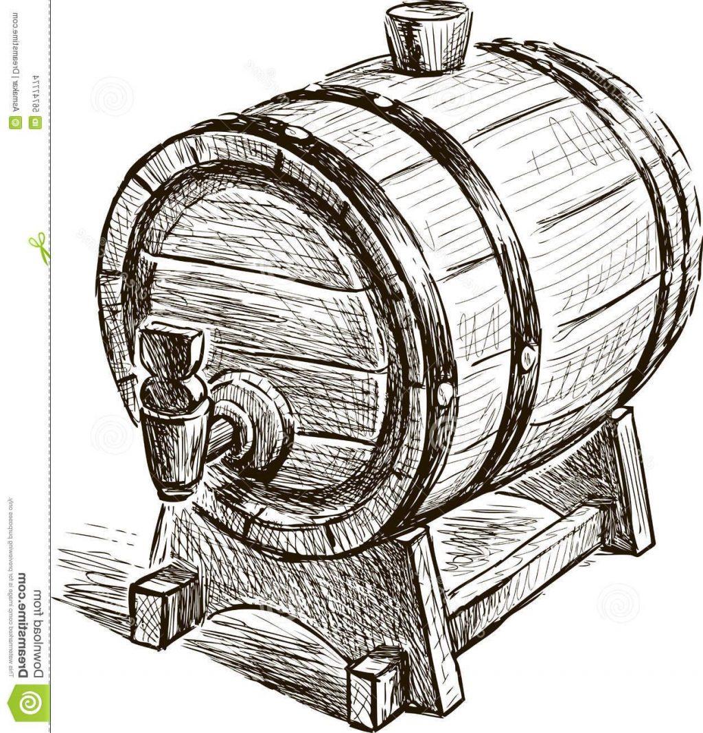 Barrel clipart wine barrel. Drawing at getdrawings com