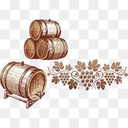Barrel clipart wine barrel. Png vectors psd and