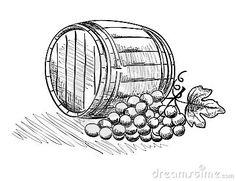 Barrel clipart wine barrel. Grape google search grapes