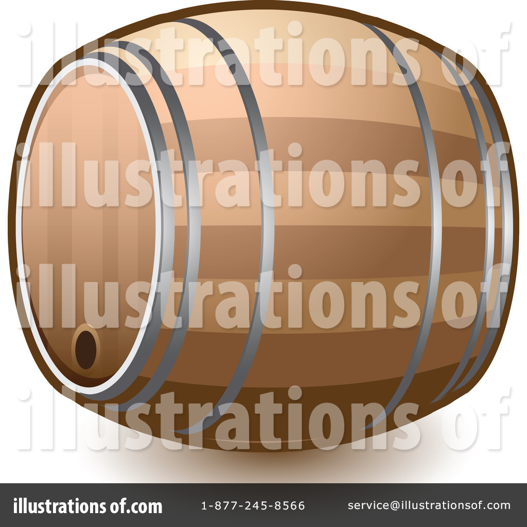 Illustration by leo blanchette. Barrel clipart wine barrel