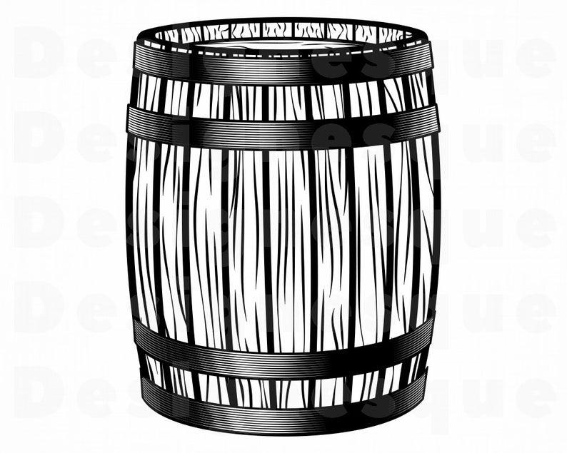barrel clipart wood barrel
