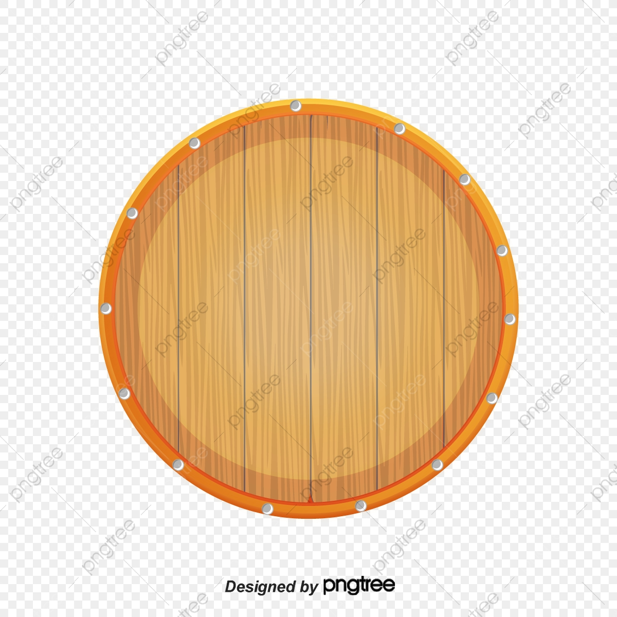 The bottom of bucket. Barrel clipart wood barrel