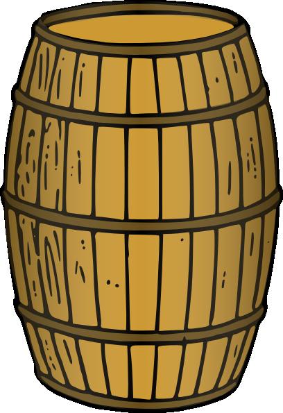 Clip art at clker. Barrel clipart wooden barrel