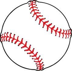 Free printable clip art. Baseball clipart