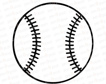 Etsy svg softball files. Baseball clipart