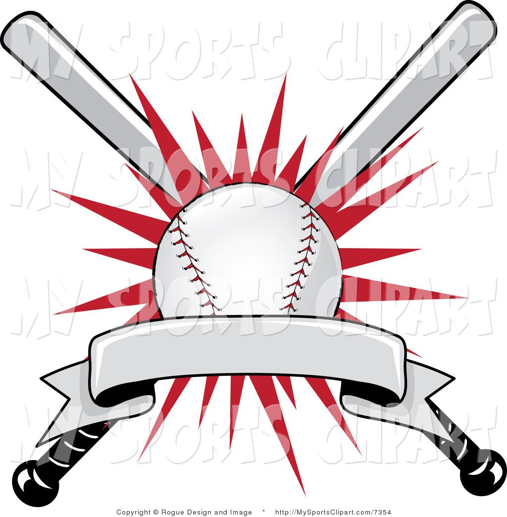 Burst clipart cartoon. Baseball clip art sports